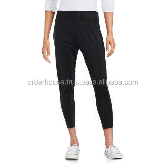 Plan Ladies Slim Fit Tits Black Pant