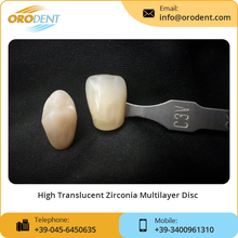 Open Cad Cam Dental Implant Material Zirconia