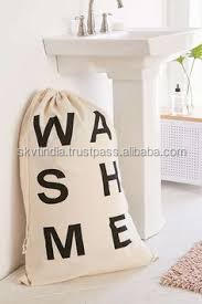 thick canvas cotton laundry bags