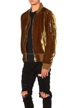BKL SILK VELVET BOMBER JACKET FOR MEN FASHION