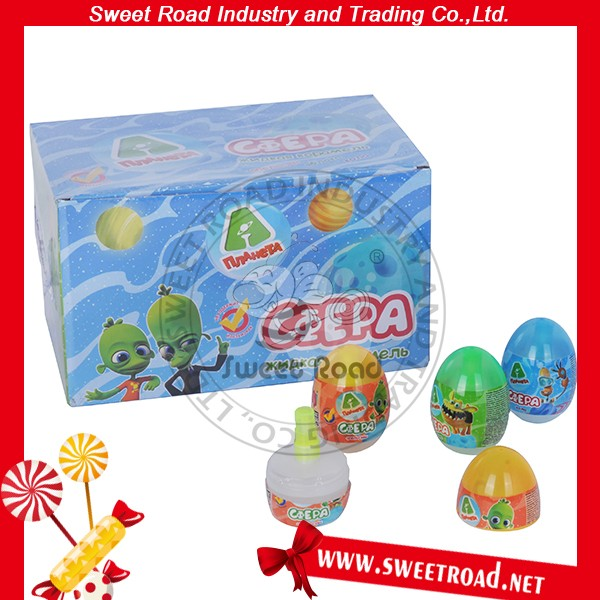 Egg Shape Spray Candy