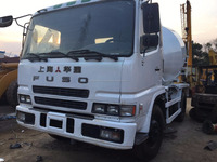 hot sale used FUSO concrete mixer truck in Shanghai