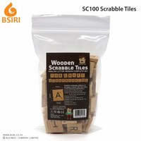 Scrabble Tiles NEW Scrabble Letters Wood Pieces Complete Sets