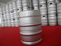 used and new 15L and 20L stainless steel insulation beer barrels for sale