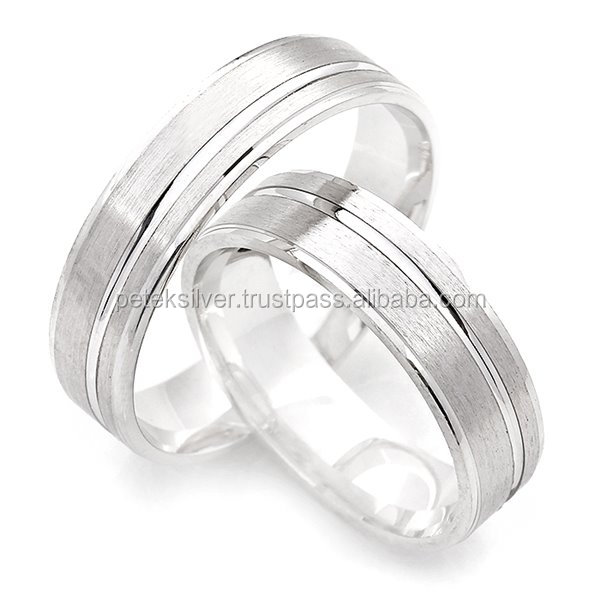 925 Sterling Silver Turkish Wedding Ring
