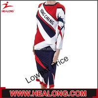 Hot Sale Classic 100% polyester Rugby Jersey with embroidery