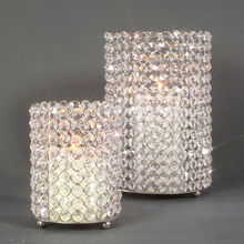 Crystal tea light table votive Holder centerpiece