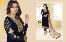designer modern bollywood styles salwar kameez with heavy dupatta and amazing colors