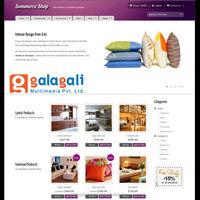 Zen Cart eCommerce Website Design and Web Development for Decor with Domain Registration Service