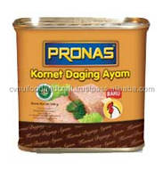 Corned Chicken 340 g Canned Meat Pronas Luncheon