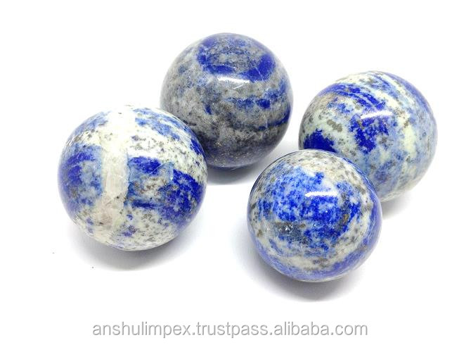 Wholesale natural Lapis Lazuli spheres, crystal balls, natural rock polished gemestone spheres, wholesale lot.