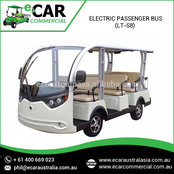 ECAR - 8 Seats Battery Power Electric Sightseeing Bus LT_S8