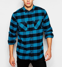 Mens flannel checked shirts