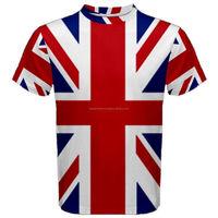 UK British Flag Sublimation t-Shirt