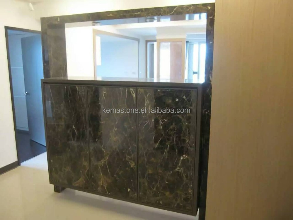 Natural Marble Stone Kitchen Cabinet Door