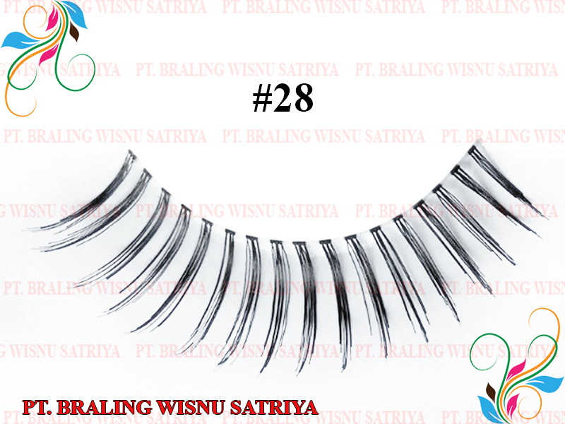 False Eyelashes Synthetic / Human Hair Style 28