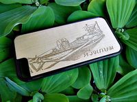 Wood Cases For Mobile Phone (Modern Art)