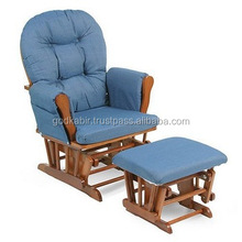 All solid wood rocking chair \ Software lounge chair/export of the original single high -quality comfortable rocking chair.