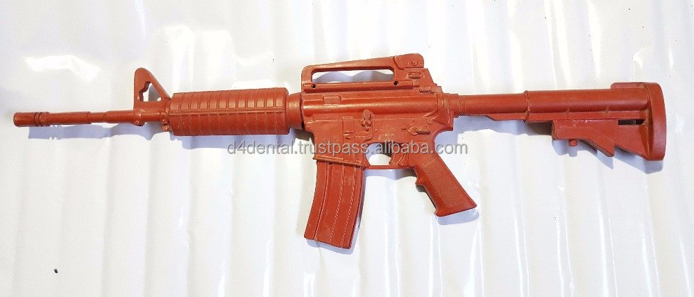 Training Plastic / Rubber Gun Rifle M4 Defence Police Army MMA Practice Personal Training Tools & Weapons