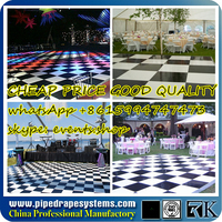 led dancefloor dc5v tls3001 5050smd 32leds/m 10w/m ip65 waterproof flexible dream color rgb led strip