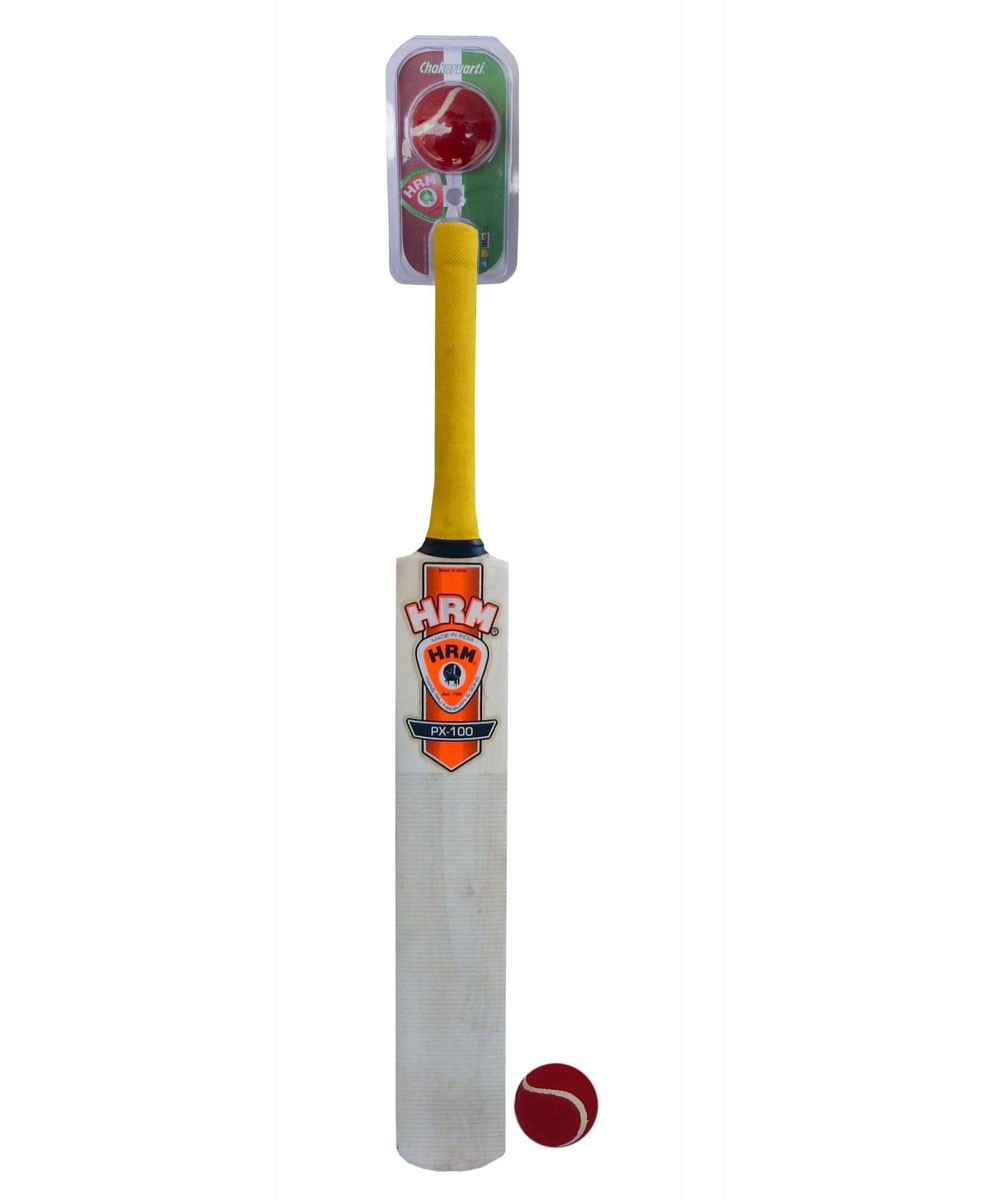 Wooden Cricket Bat BB PX-100 size 5 with Ball