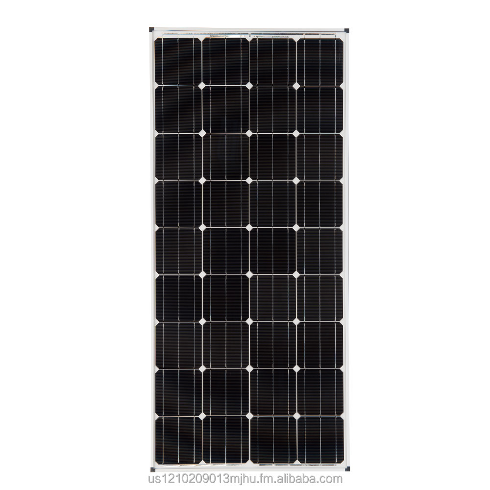 160-Watt Monocrystalline Solar Panel
