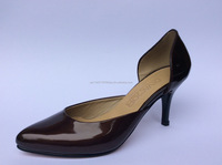 Genuine leather. Handmade shoes. High heels.