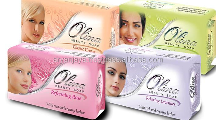 Olina Beauty Soap 125gr (in paper wrap)