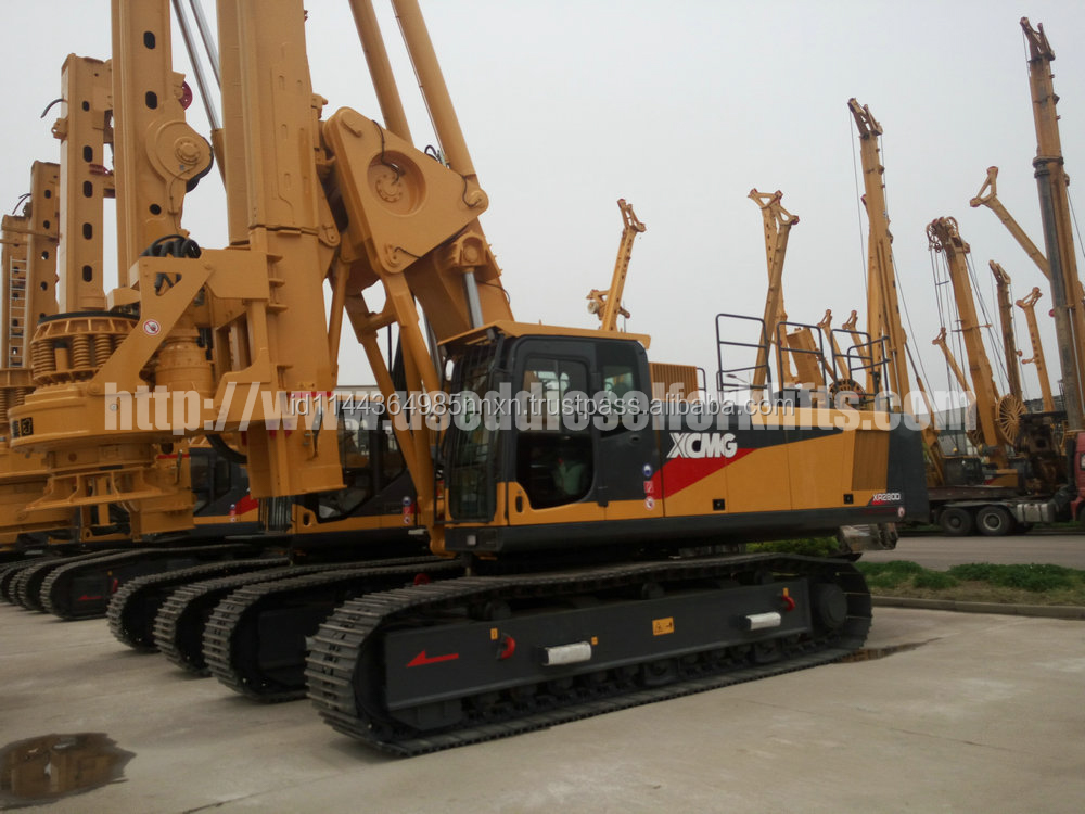 XCMG XR280D ROTARY DRILLING RIG HOT SALE IN GOOD CONDITION FOR WORK