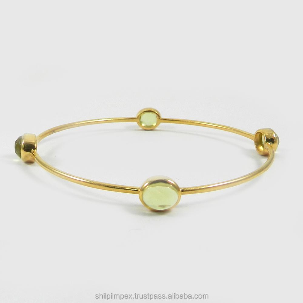 Apatite Quartz 18k Gold Plated 925 Sterling Silver Bezel Handmade Dangle Earrings