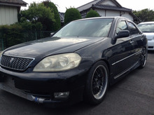 JAPANESE SECOND HAND VEHICLES FOR TOYOTA MARK II 2003 AT TA-JZX110