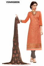 Chaderi traditional wear salwar kameez
