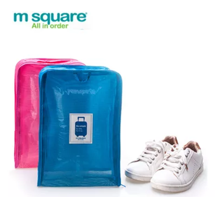 M Square Go Simple Series Multi-functional Travel Mesh Shoe Bag