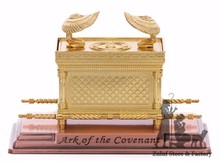 Large Ark of The Covenant on Copper Base by Zuluf HLG009