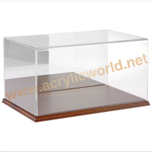 lockable acrylic box/plexiglass acrylic square box/acrylic display box