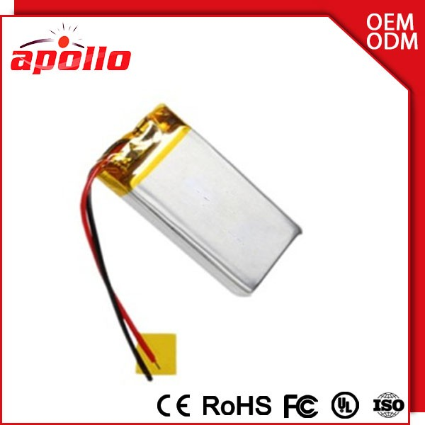 high discharge rate 5v 1000mah lithium battery with temperature control