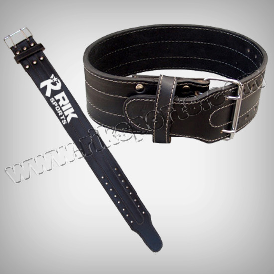 Leather Crossfit Workout power gym Weightlifting Exercise Training Belt Dual Pronged Steel Roller Buckle optimum Bodybuilding