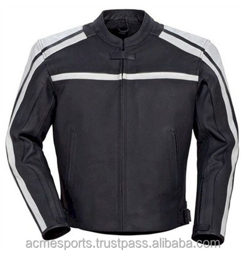 Motorbike jackets - New Customized Manufacturer Leather Motorcycle/Motorbike Jackets