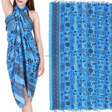 Sexy strand pareo cover up Rayon sarong