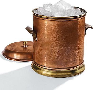 Promotional Best Selling bar led lighted copper ice bucket
