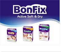 Bonfix High quality Textile Baby diapers manufacturers