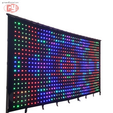 3mx6m flexible led screen/soft led displays