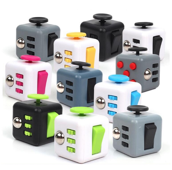 In Stock Shipped Now 2016 Fidget Cube High Quality Fidget Cube The First Batch of The Sale Best Christmas Gift