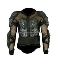 Perrini CE Approved Full Body Armor Motorcycle Jacket Night Visibility