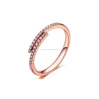 Natural Diamond Engagement Wedding Ring 14k Gold Fashion Jewelry
