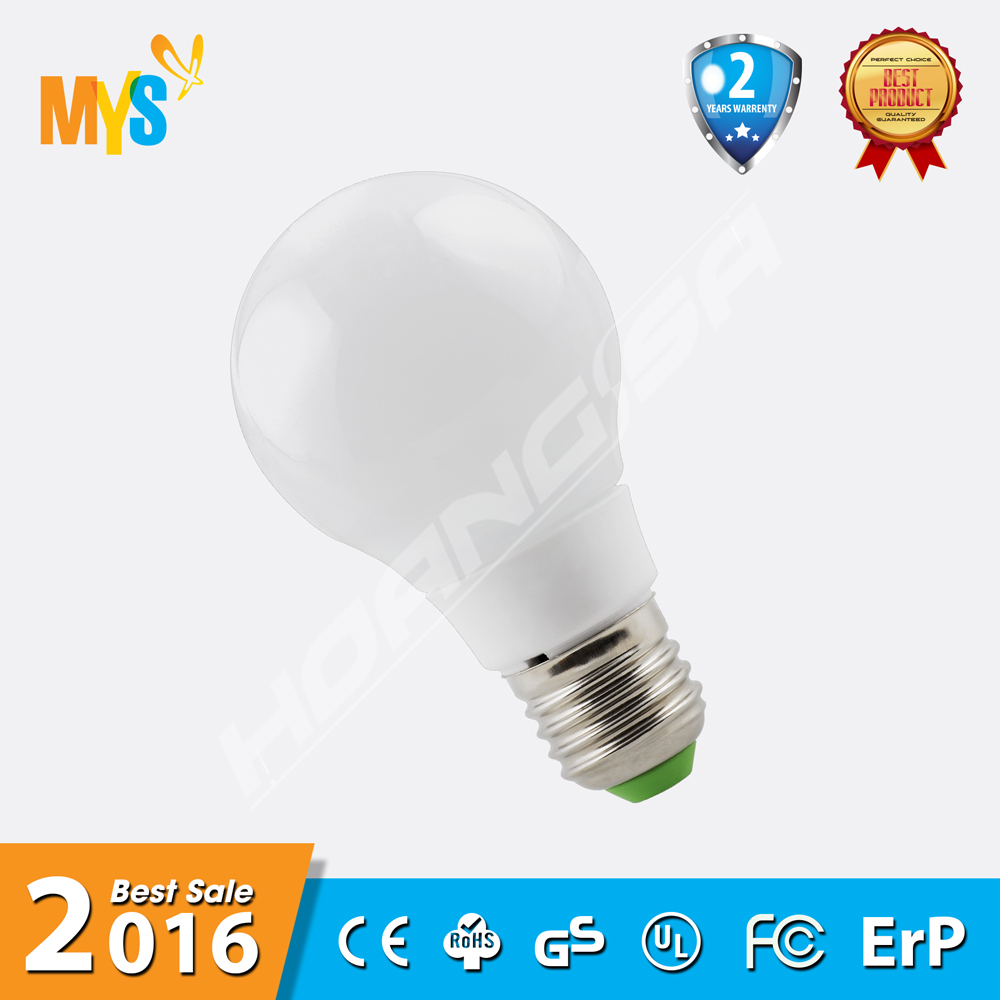 2016 new product 3W 5W 7W 9W 10W E27 100-275V LED Bulb with 2years warranty led light bulb