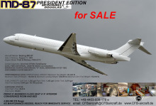 MD 87 VVIP President for SALE