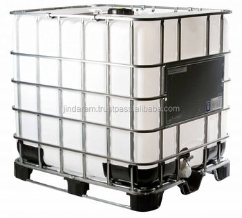 IBC Tank with Composite Pallet