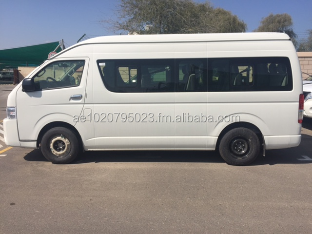 2016 MODEL TOYOTA HIACE HIGH ROOF 2.5L DIESEL MANUAL