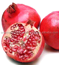 frozen red pomegranates